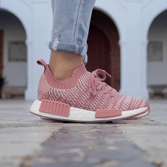 Adidas NMD_R1 STLT Primeknit Women Schuhe pink